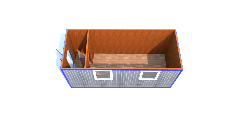 Блок-Контейнер(Д.,Ш.,В.) 6,0*2,4*2,5м.