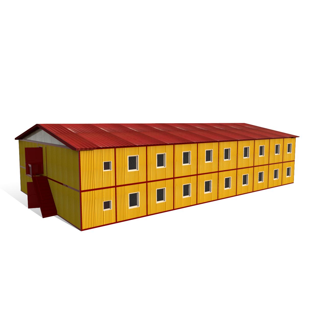 Блок-контейнер 9000 х 2400 х 2500 мм «ГАРДЕРОБ»